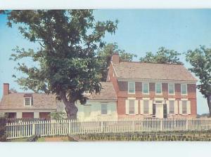 Unused Pre-1980 JOHN DICKINSON MANSION Dover Delaware DE d0533@