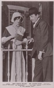 Miss Gertie Millar Mr Joseph Coyne The Quaker Girl Play Real Photo Postcard