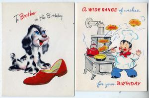 2 - Birthday Cards (1 Brother)