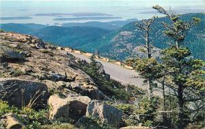 Mount Cadillac Acadia National Park, Maine Postcard