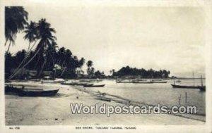 Sea Shore, Tanjong Tokong Penang Malaysia Writing On Back