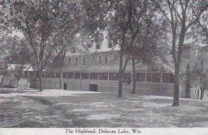 Wisconsin Delavan Lake Highland Hotel 1915