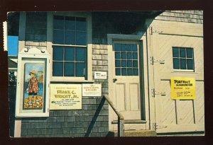 Edgartown, MA/Mass Postcard, Dock Street Gallery, Martha's Vineyard, Cape Cod