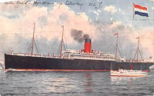 Atlantic Transport Line, SS Minneapolis Ship 1907 big crease
