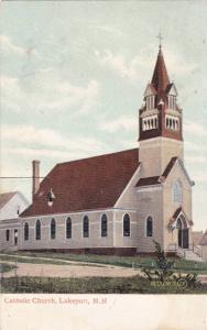 Exterior, Catholic Church,Lakeport,New Hampshire,PU-1917
