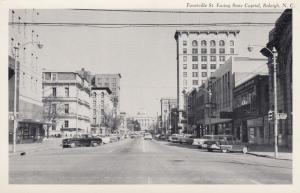 RALIEGH , North Carolina , 1940s ; Fayetteville Street