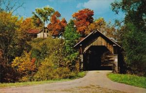 Vermont Stowe Gold Brook Covered Bridge