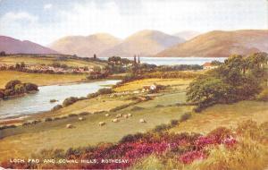 uk13488 loch fad and cowal hills rothesay scotland uk