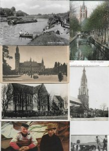 Netherlands - Elsloo Egmond Valkenburg And More Postcard Lot of 19  01.05