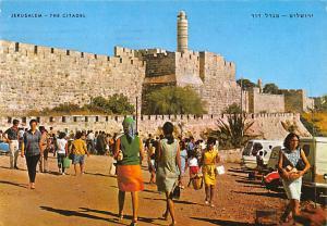 Jerusalem Israel The Citadel Jerusalem The Citadel