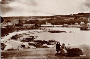 Glenarm Northern Ireland RPPC Real Photo Postcard E19