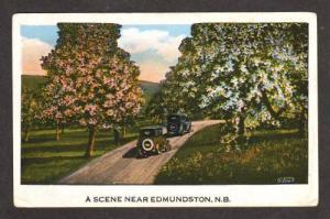 NEW BRUNSWICK EDMUNDSTON NB View Old Cars CANADA PC