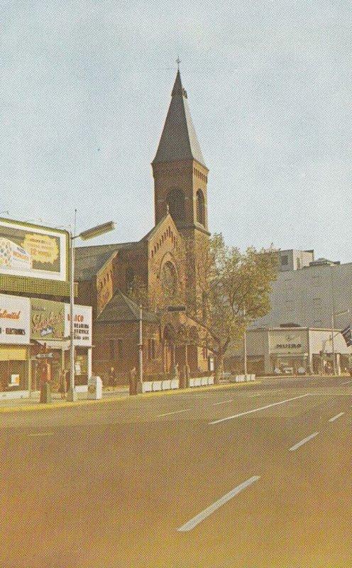 EAST ORANGE , New Jersey , 1940-60s; Brick Church , Main Street