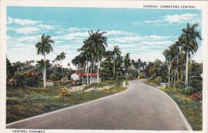 Cuba Havana Central Highway