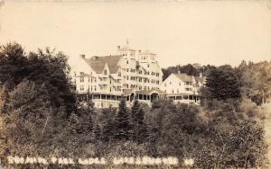 Sunapee New Hampshire~Park Lodge~Beautiful Building~1922 RPPC
