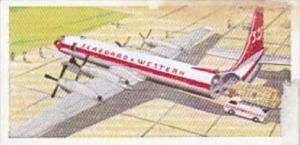 Lyons Trade Card Wings Across The World No 9 Vickers Armstrong VC 10 U K