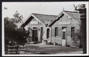 California BUENA PARK Knott's Berry Farm Ghost Town Bottle House - RPPC