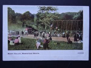 London HAMPSTEAD HEATH Happy Valley Chuildren's Play Park c1906 Old Postcard