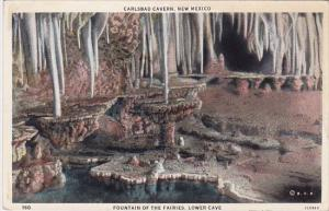 New Mexico Carlsbad Cavern Fountain Of The Faires Lower Cave