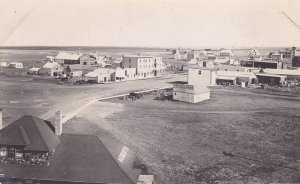 RP; Main Street view from Elevator , ASQUITH , Saskatchewan , Canada , 00-10s