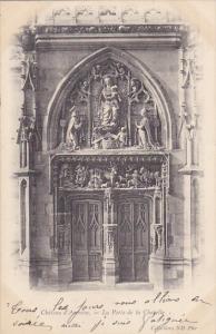 France Chatau d'Amboise La Port de la Chapelle 1903