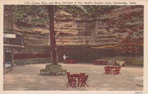 Tennessee Clarksville Dance Floor & Main Entrance To Roy Acuff's Dunbar ...
