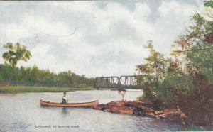 SEVERN RIVER Entrance , Ontario, 1908