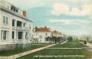 WA, Puget Sound, Washington, Naval Station, Officers Quarters, Lowman & Hanford