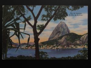 Brazil: Rio de Janeiro - O Pao de Acucar c1955