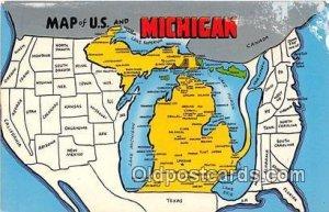 Michigan USA Unused