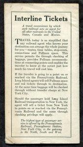 F11 - LONG ISLAND RAILROAD 1931 Timetable. Long Beach Branch Stations