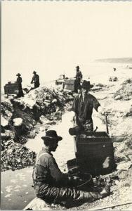 Gold Miners Bluff City Alaska near Nome Unused E. Hegg Reproduction Postcard F9