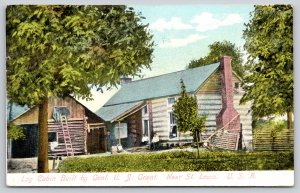 St Louis MO~General US Grant Log Cabin Hardscrabble b1856~Ladder to Roof~1907