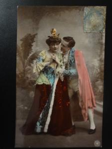 German Romance: Hand Coloured Real Photo PC No.490/6 - Pub N.P.G. Berlin c1905