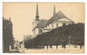 Richelieu , Indre-et-Loire department in central France. 00-10s L´Eglise par...