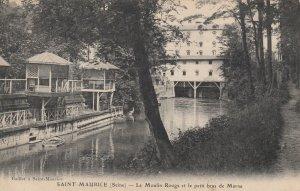 SAINT-MAURICE , France, 00-10s; Le Moulin Rouge et le petit bras de Marne