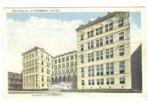 Laval University, Montreal, Quebec, Canada, 1910-1920s