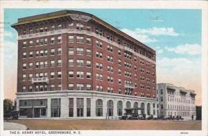 North Carolina Greensboro The O Henry Hotel 1928