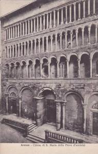 Chiesa Di S. Maria Della Pieve (Facciata), Arezzo (Tuscany), Italy, 1900-1910s