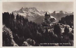 RP, Hotel De Sonloup Sur Les Avants, Montreux (Vaud), Switzerland, 1920-1940s