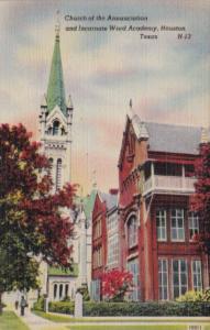 Texas Houston Church Of The Annunciation and Incarnate Word Academy