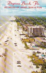 Florida Daytona Beach View Looking South