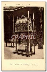Old Postcard Cluny Museum of Art Flemish Hunting