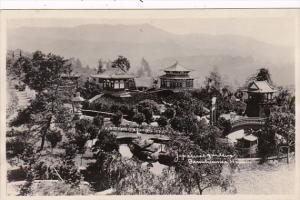 California San Francisco Japanese Minature Gardens Real Photo