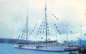 SV Windjammer Built in 1922, Owned by John Ford Ship Postcard Post Card Built...