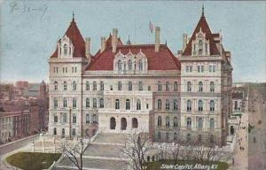 New York Albany State Capitol 1907