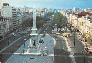 Portugal Lisboa Restauradores e Avenida da Liberdade Liberty Avenue