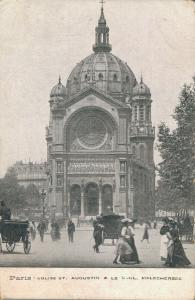 France Paris Eglise St. Augustin 01.90