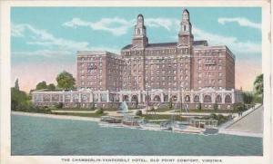 Virginia Old Point Comfort The Chamberlin Vanderbilt Hotel