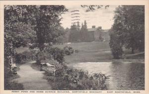 Perry Pond And Home Science Building Northfield Seminary East Northfield Mass...